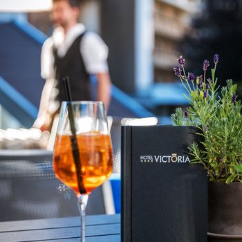 Terrasse der Victoria Weinbar