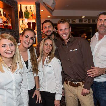 Das Team der Victoria Weinbar