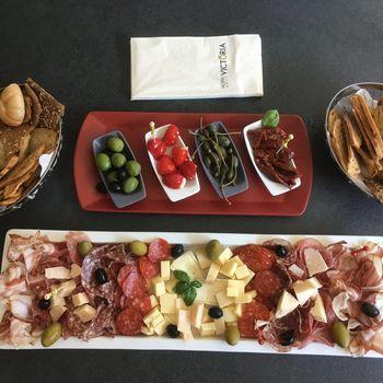 Italienischer Teller für 4 Personen