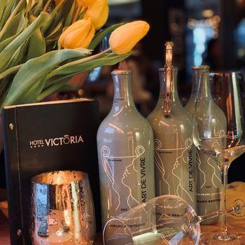 Köstliche Weine in der Victoria Weinbar